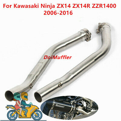 For Kawasaki ZZR1400 ZX14R 2006-2016 Motorcyle Exhaust System Connect Pipe Slip