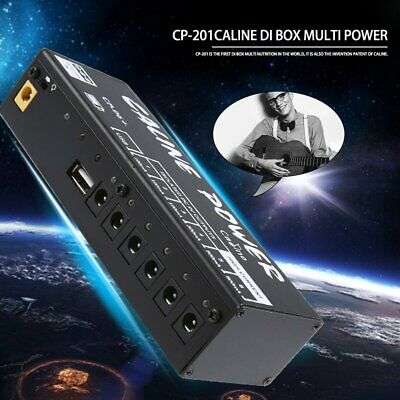 6 Caline Guitar Effect Pedal Power Supply Station Board 9V Power Protection OC