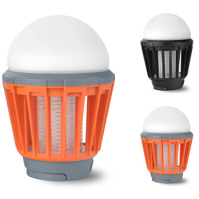 1 Pack Indoor LED Electric Mosquito Fly Bug Insect Trap Zapper Killer Night Lamp