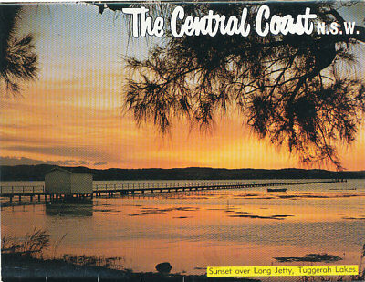 CENTRAL COAST.  NSW.  VIEW FOLDER with ELEVEN VIEWS. C 1960's. ENTRANCE etc.