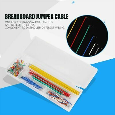 Solderless U Shape Cable Wire Jumper Wire Breadboard 140Pcs/Box for DIY Shield