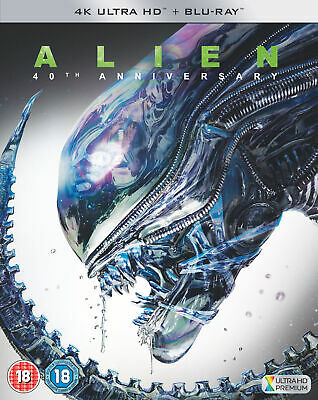 Alien - 40th Anniversary Edition (4K Ultra HD) Sigourney Weaver