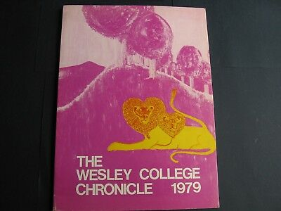The Wesley College Chronicle  1979