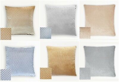 Velvet Soft Caravan Cushion Covers In 3 Designs Filled or Unfilled