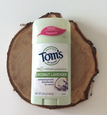 Tom's of Maine Natural 24hr Wetness Protection Deodorant Coconut Lavender