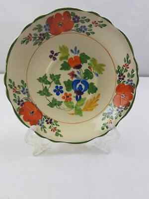 Pottery, Porcelain & Glass Antique Stunning Adams Royal Ivory Titian Ware Extremely Rare Plate 1905. Adams