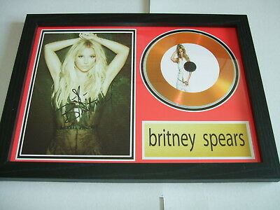 Britney Spears   Signed  Gold Cd  Disc 2