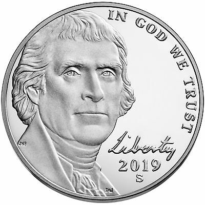 2019 S PROOF Jefferson Nickel ***PRE-SALE*** Deep Cameo  FREE 1st CLASS SHIPPING