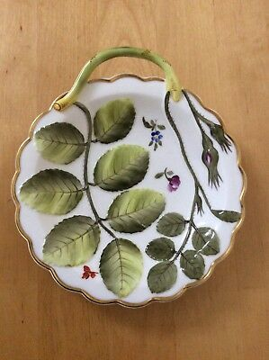 Royal Worcester The Blind Earl Round Nappy Dish