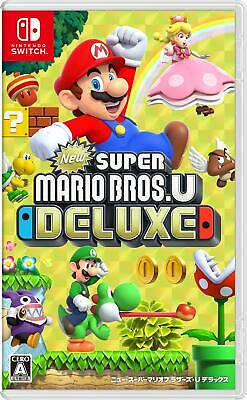 New Super Mario Bros U Deluxe - Switch Japanese Game