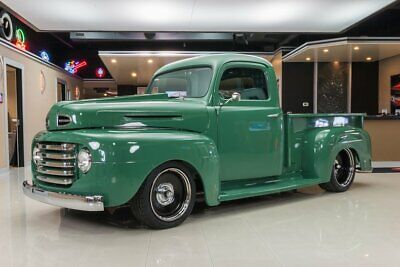 1948 Ford F1 Pickup Custom F1 Pickup! Fuel Injected 5.0L V8, Automatic, Vintage A/C, PS, PB & More!