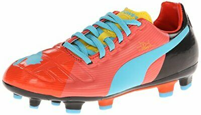 4e9de2098 PUMA Evopower 3 GFC Firm Ground JR Soccer Shoe , Dubarry/Dandelion/Black,