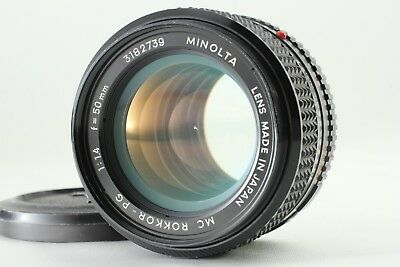 [EXC+++] Minolta MC ROKKOR-PG 50mm f/1.4 Standard MD Mount MF Lens from Japan