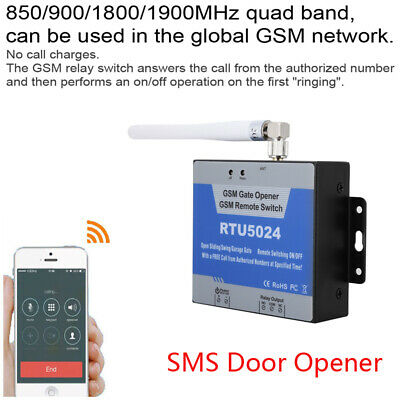 Wireless GSM SMS Gate Opener Controller Switch Phone Remote Control Door Access