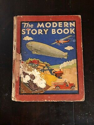 The Modern Story Book, Wallace Wadsworth, Illus. Eger, Rand McNally, Chicago1942