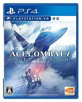 PS4 ACE COMBAT 7 SKIES UNKNOWN + bonus Japanese Game