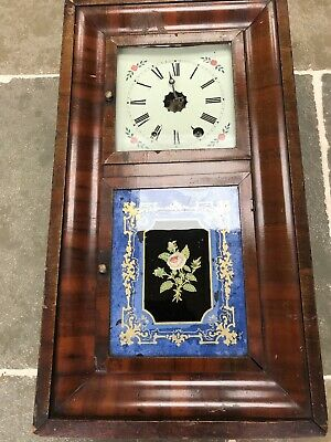 Antique American Jerome And Co Wall Clock