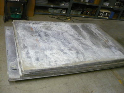 """Magnesium plate, 88"""" x 58"""" x 1 1/2"""", (5) pieces, 2540 lbs, $2.00/lb"""