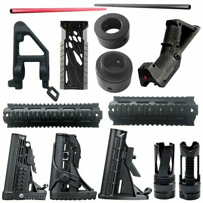 Acc Army Tactical Nylon Buttstock For JinMing Gen8 M4A1 Gel Ball Blaster Toy GA