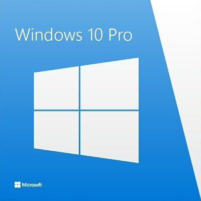 Microsoft Windows 10 Professional MS Win 10 Pro 32/64 Bit Pro Vollversion SOFORT