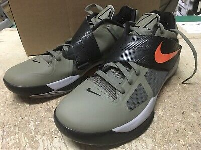 521675463820 USED MENS NIKE ZOOM KD IV 4 ROGUE GREEN UNDFTD 473679 302 Durant SZ 13 NOBOX