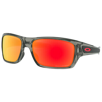 ffe8c79323 OAKLEY MEN S TURBINE Polarized Iridium Rectangular 100% UV Sunglasses