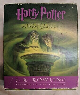 Harry Potter and the Half-Blood Prince Complete Audiobook CD'S 1-17-JK Rowling