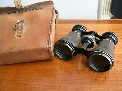 Opera Glasses in Leather Case