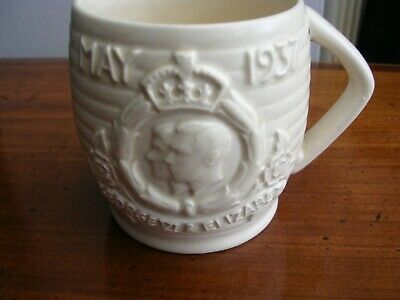 King George 6th Royal 1937 Rare Commemorative Mug Made in Wakefield RARE