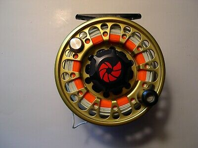Nautilus No Eight Fly Reel With Backing And Line