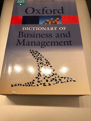 A Dictionary of Business and Management by Oxford University Press...