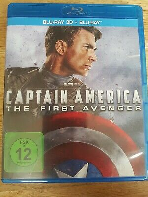 CAPTAIN AMERICA - The First  Avenger - Blu-Ray 3D + Blu-Ray