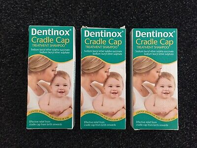 Dentinox Cradle Cap Treatment Shampoo 125ml x 3 Packs