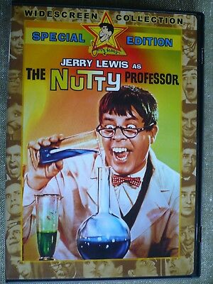 The Nutty Professor Jerry Lewis  special edition.