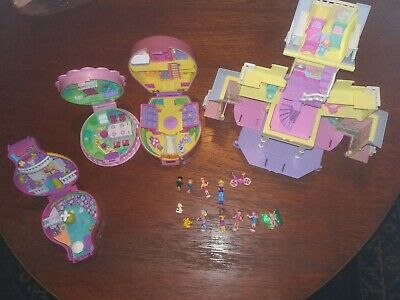 Vintage Polly Pocket Sets Inc Clubhouse