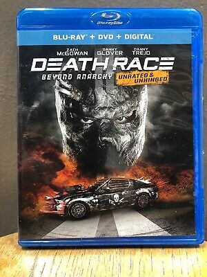 Death Race: Beyond Anarchy (Blu-ray + DVD, 2018, 2-Discs)