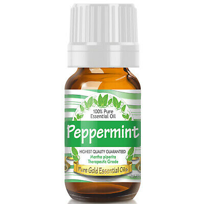 Peppermint Essential Oil (100% Pure, Natural, UNDILUTED) 10ml