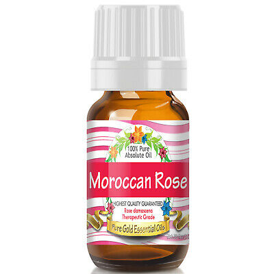 Moroccan Rose Absolute Essential Oil (100% Pure, Natural, UNDILUTED) 10ml