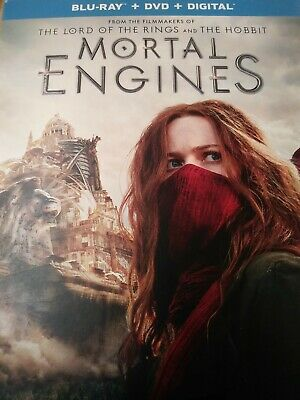 Mortal Engines (Blu-ray + DVD  2019) NO DIGITAL CODE INCLUDED