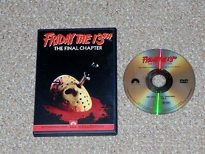Friday the 13th - Part 4: The Final Chapter DVD 2000 Crispin Glover