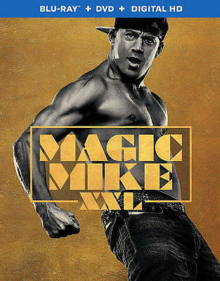 Magic Mike XXL (Blu-ray/DVD) EXPIRED DIGITAL COPY WITH SLIPCOVER SEALED