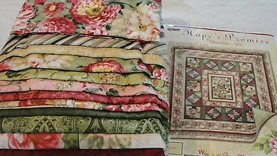 HOPE'S PROMISE Quilt Kit Original Collection Danhui Nai 93x101""