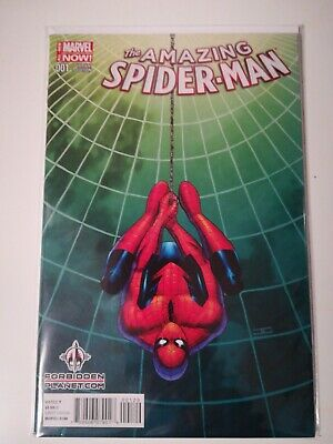 The Amazing Spider-Man #1 Marvel Now 2nd Variant Bagged and Boarded