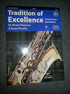 TRADITIONS OF EXCELLENCE COMPREHENSIVE BAND METHOD Eb ALTO SAXOPHONE BOOK 2