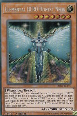 Elemental HERO Honest Neos BLRR-EN079 Secret Rare NM Yugioh