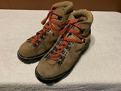 90a11b449d51 Mont Blanc Sears Vintage Suede Leather Hiking Mountain Trail Boots Men Sz  10D