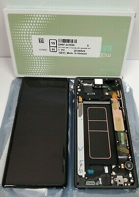 Samsung galaxy Note 9 LCD Display Screen Digitizer Replacement + Frame Original