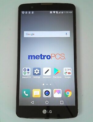 LG STYLO 2 Plus MS550 16GB Brown (Metro PCS) Smartphone Fair 7/10 #6219