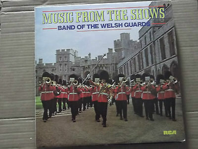 Band Of The Welsh Guards - Music From The Shows Lp