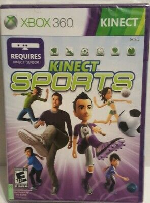 Kinect Sports (Xbox 360, 2010)  BRAND NEW Factory Sealed  ~ FREE SHIPPING